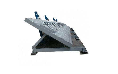 Автомобилеразгрузчики гидравлические боковые специальные модели РГБ (с нижней установкой гидроцилиндров)