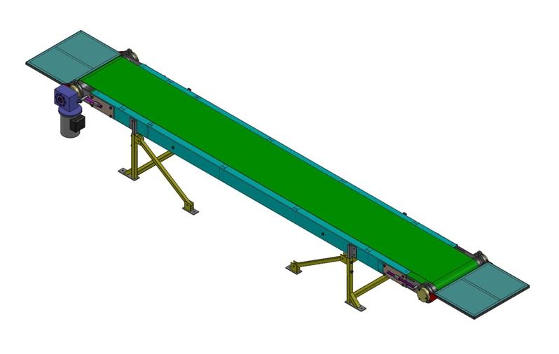 Ленточные транспортеры и конвейеры чертеж купить конвейерный транспортер