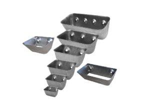 Металлические ковши норийные для элеваторного оборудования