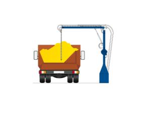 Пробоотборник консольный для зерна ПО 4.1